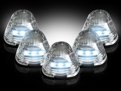99-16 Ford Superduty Clear White LED Cab Lights