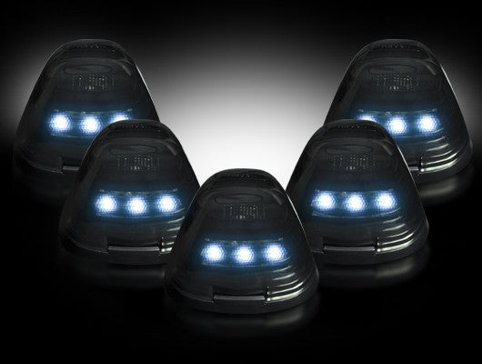 99-16 Ford Superduty Smoked White LED Cab Lights