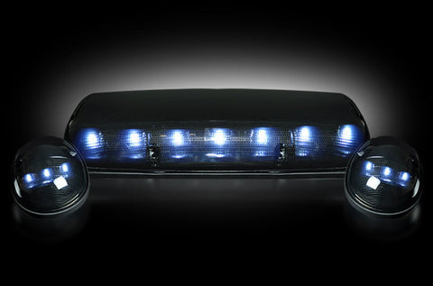 02-07 Chevy/GMC Smoked White LED Cab Lights