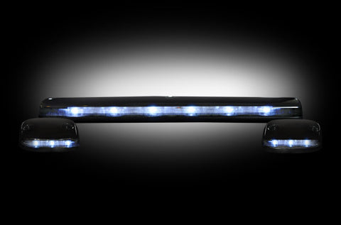 07-13 Chevy/GMC Smoked White LED Cab Lights - Dezert Lighting LLC