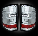 14-16 Chevy Silverado and 15-16 GMC Sierra Clear LED Tail Lights