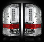14-16 GMC Sierra Clear LED Tail Lights