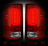 14-16 GMC Sierra Red LED Tail Lights