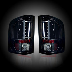 07-13 Chevy/GMC Smoked LED Tail Lights