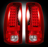 99-06 Chevy/GMC Red LED Tail Lights