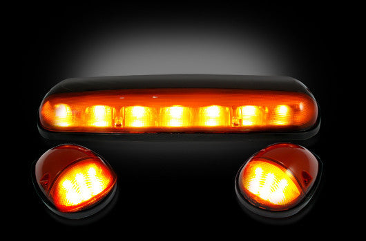 02-07 Chevy/GMC Amber LED Cab Lights
