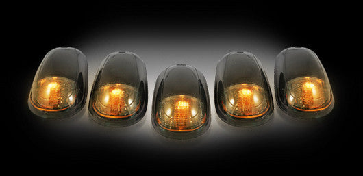 03-16 Dodge Ram Smoked Amber LED Cab Lights - Dezert Lighting LLC