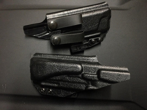 PHLster Hudson H9 Holster AIWB w/ ModWing (Black - Right Hand)