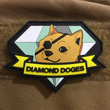 Snake Hound Machine Diamond Doge Patch