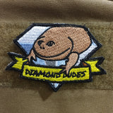 Snake Hound Machine Diamond Dudes Patch