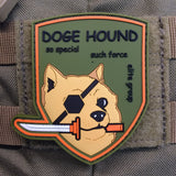 Snake Hound Machine MOTHER BASE DOGE HOUND PATCH