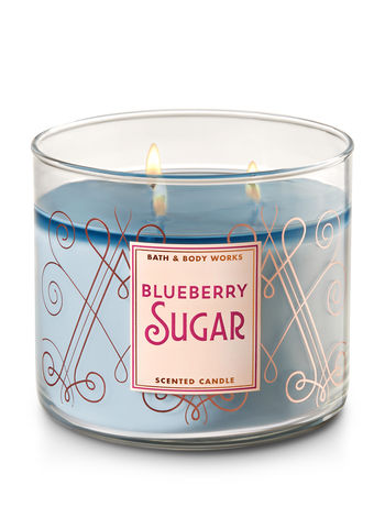 Blueberry Sugar 3 Wick Candle