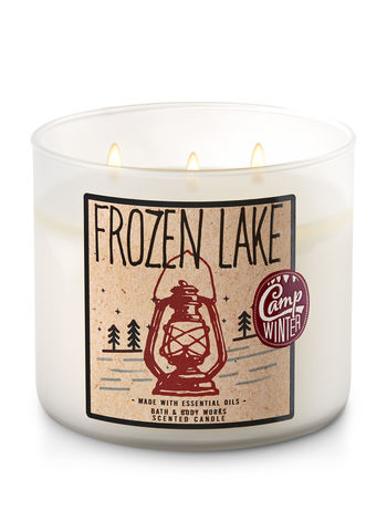 Frozen Lake 3 Wick Candle