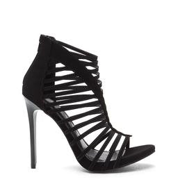 Crossed the Line Heels - Black