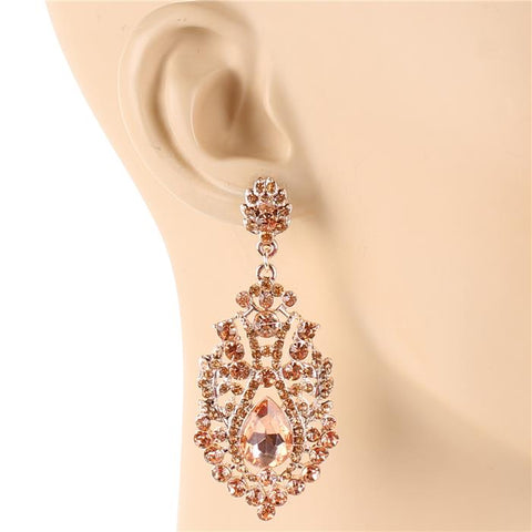 Eve of the Day Earrings - Rose Gold