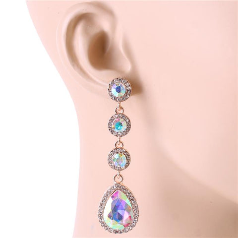Pretty Princess Earrings - Iridescent