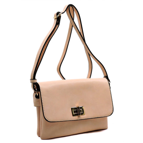Weekend Trend Cross Body Bag - Pink