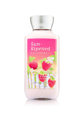 Bath and Body Works Sun Ripened Raspberry Body Lotion
