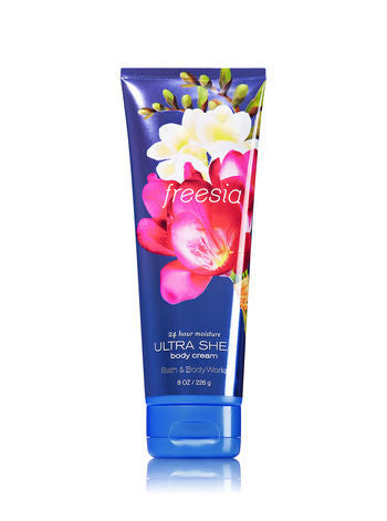 Bath and Body Works Freesia Body Cream