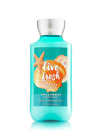 Bath and Body Works Live Fresh Seaside Breeze Body Lotion