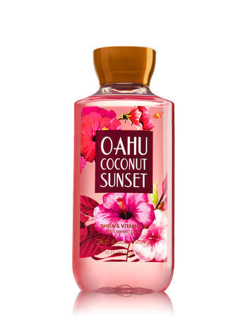 Bath and Body Works Oahu Coconut Sunset Shower Gel