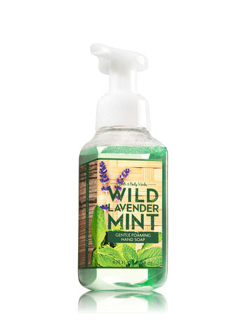 Bath and Body Works Wild Lavender Mint Gentle Foaming Hand Soap