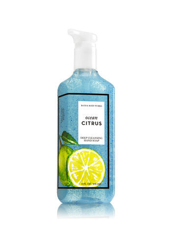 Bath and Body Works Ocean Citrus Deep Cleansing Hand Soap