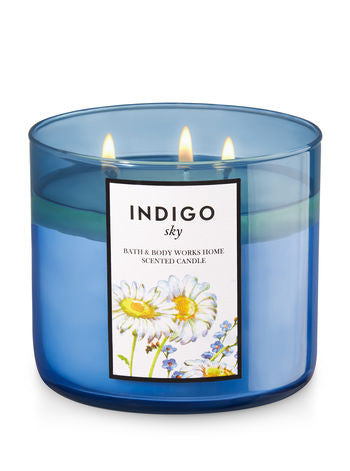 Indigo Sky 3 Wick Scented Candle