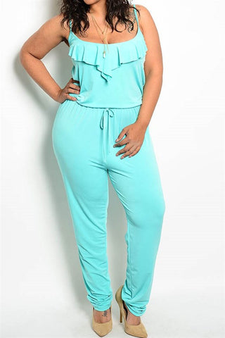 PLUS Fluttered Heart Jumpsuit
