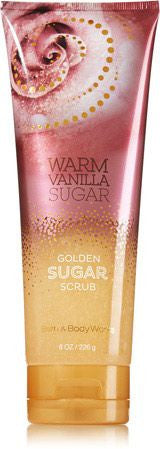 Bath and Body Works Warm Vanilla Sugar Golden Sugar Scrub
