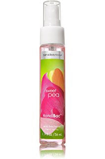 Bath and Body Works Sweet Pea Anti-bacterial Hand Spray