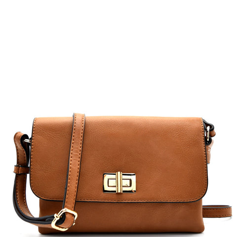 Weekend Trend Cross Body Bag - Brown