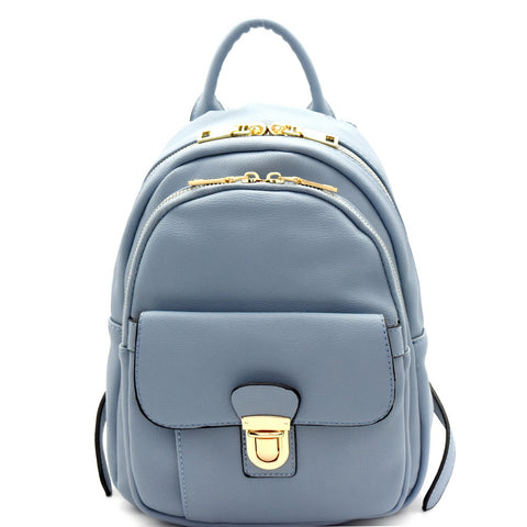Easy Does It Mini Backpack - Blue