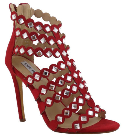 Show Me Your Bling Heels - Red