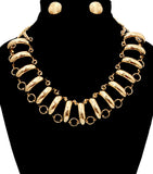 Ring Around Necklace Set