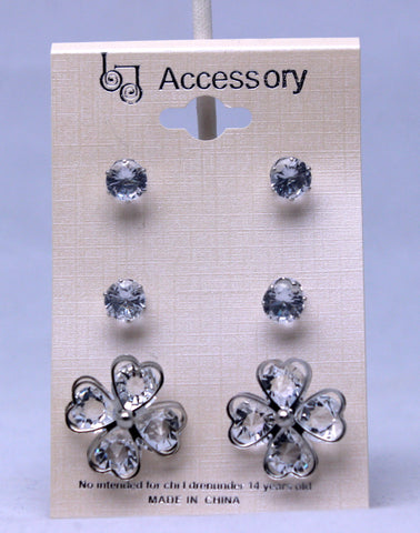 Studded Petals Earring Pack