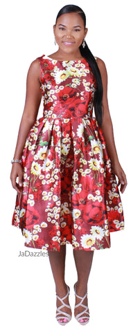 Bursting In Blooms Dress
