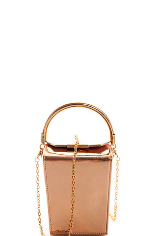 Take Me With You Bag - Rose Gold