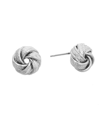 Knot Ready Knob Earrings