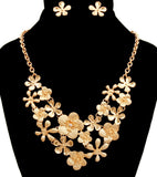 Floral Character Necklace Set