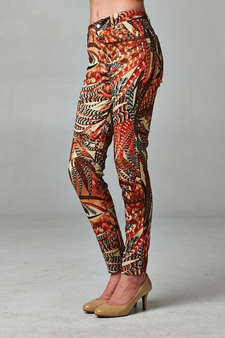 Set in the Palms Ankle Pants - Orange