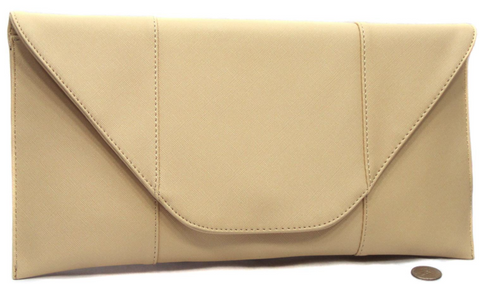 Champagne Envelope Clutch