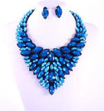 Blue Waters Necklace Set