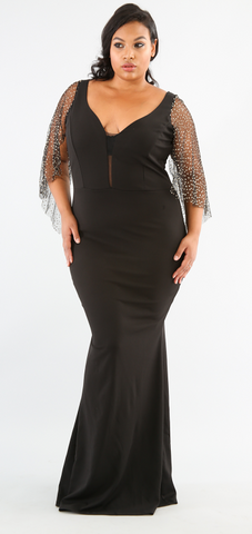 PLUS Glammed Up Maxi Dress