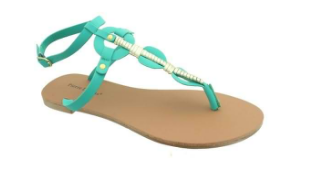 Heel n Sole Sandals - Turquoise