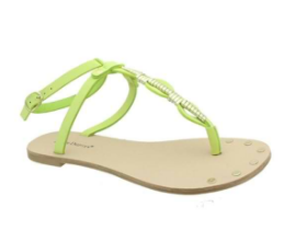Heel n Sole Sandals - Mint Green