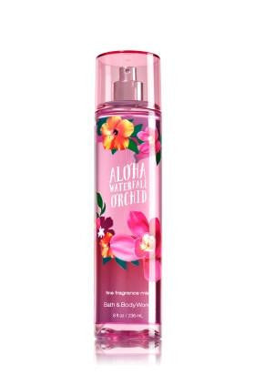 Bath and Body Works Aloha Waterfall Orchid Fragrance Mist