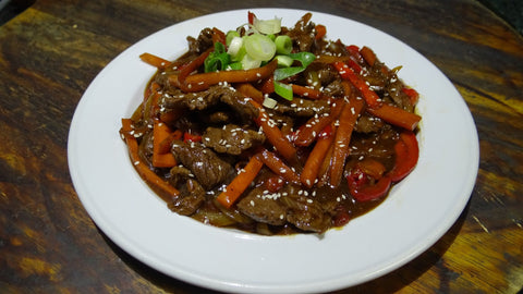 Beef and Black Bean Sauce Stir Fry - Large