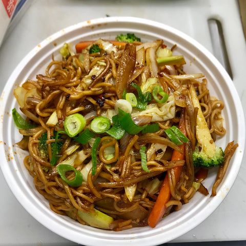 Chow Mein (Chinese Stir-Fried Noodles)