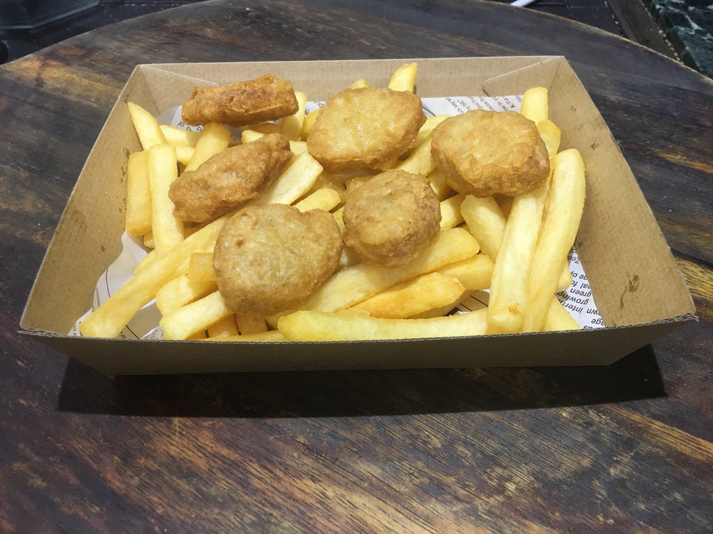 Chicken Nuggets and Chips - Small